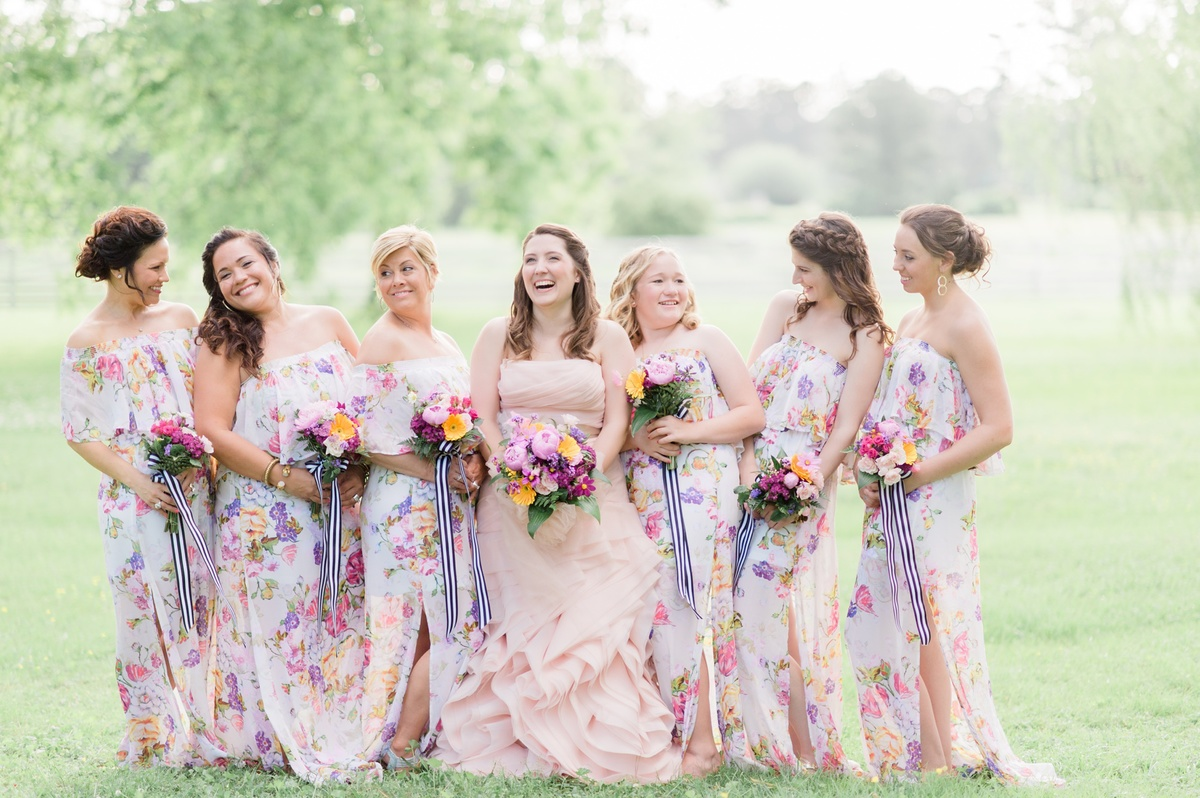 Floral Themed Wedding At Mulberry Hill