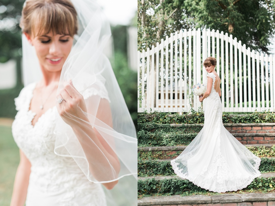 Bridal Photos in Downtown Edenton