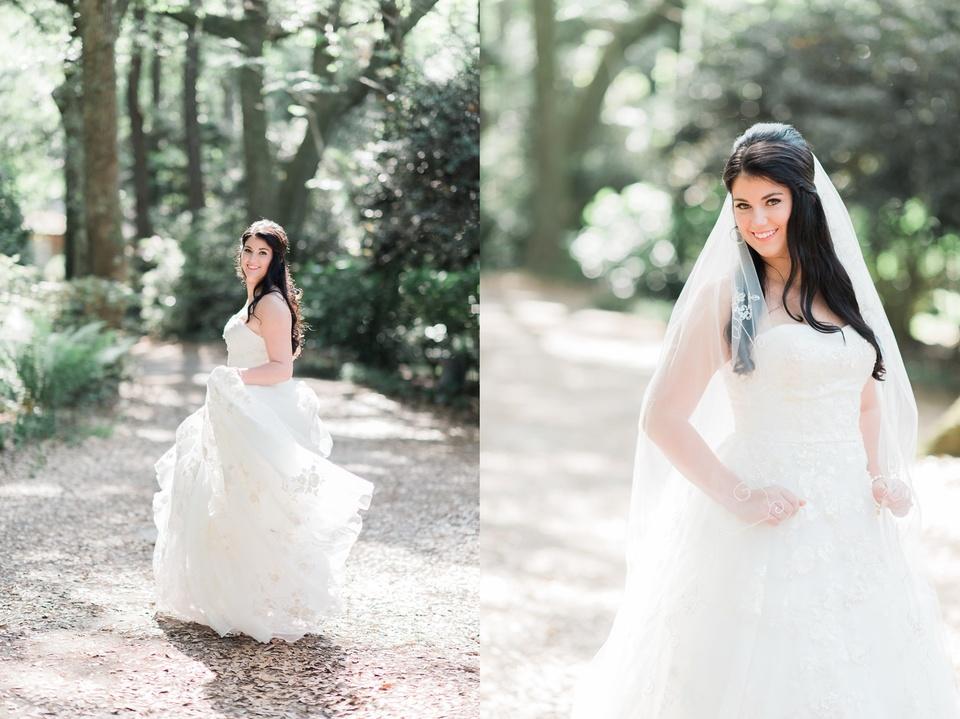 Elizabethan Gardens Bridal Photos