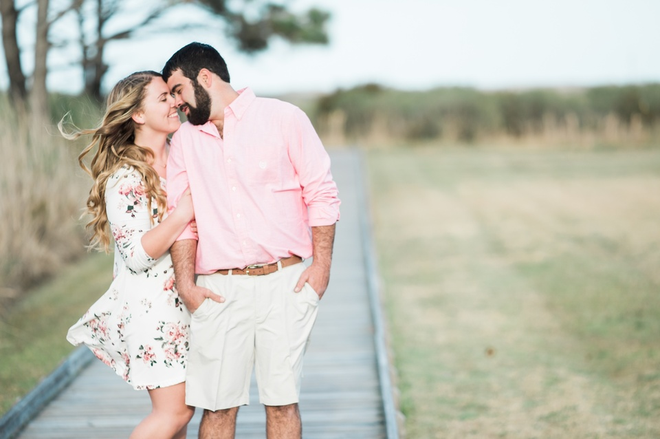 outer banks nc engagement session