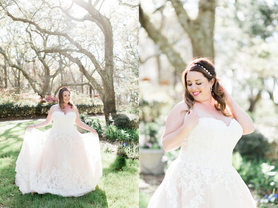 Elizabethan Gardens Bridal Photos