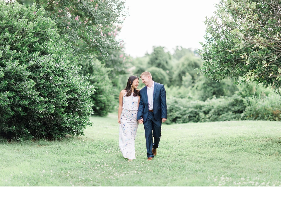 dorthea dix park engagement session