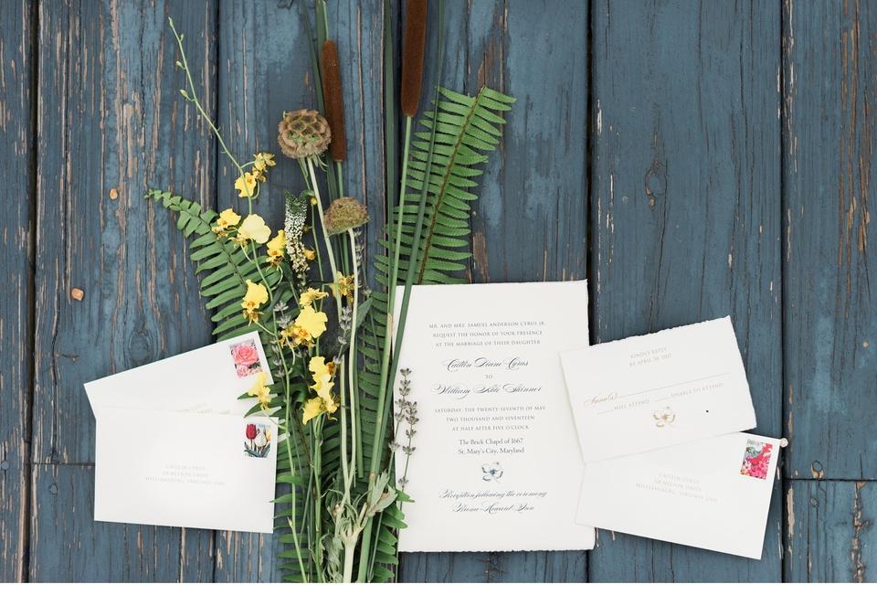 botanical themed wedding at st marys city