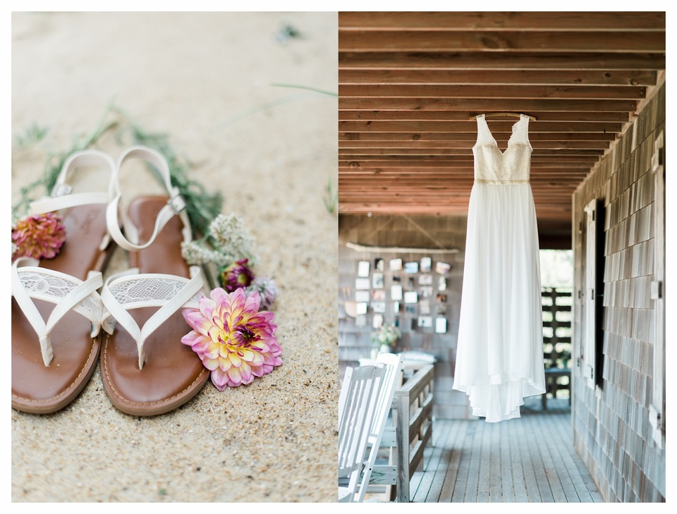 Intimate Backyard Outer Banks Wedding