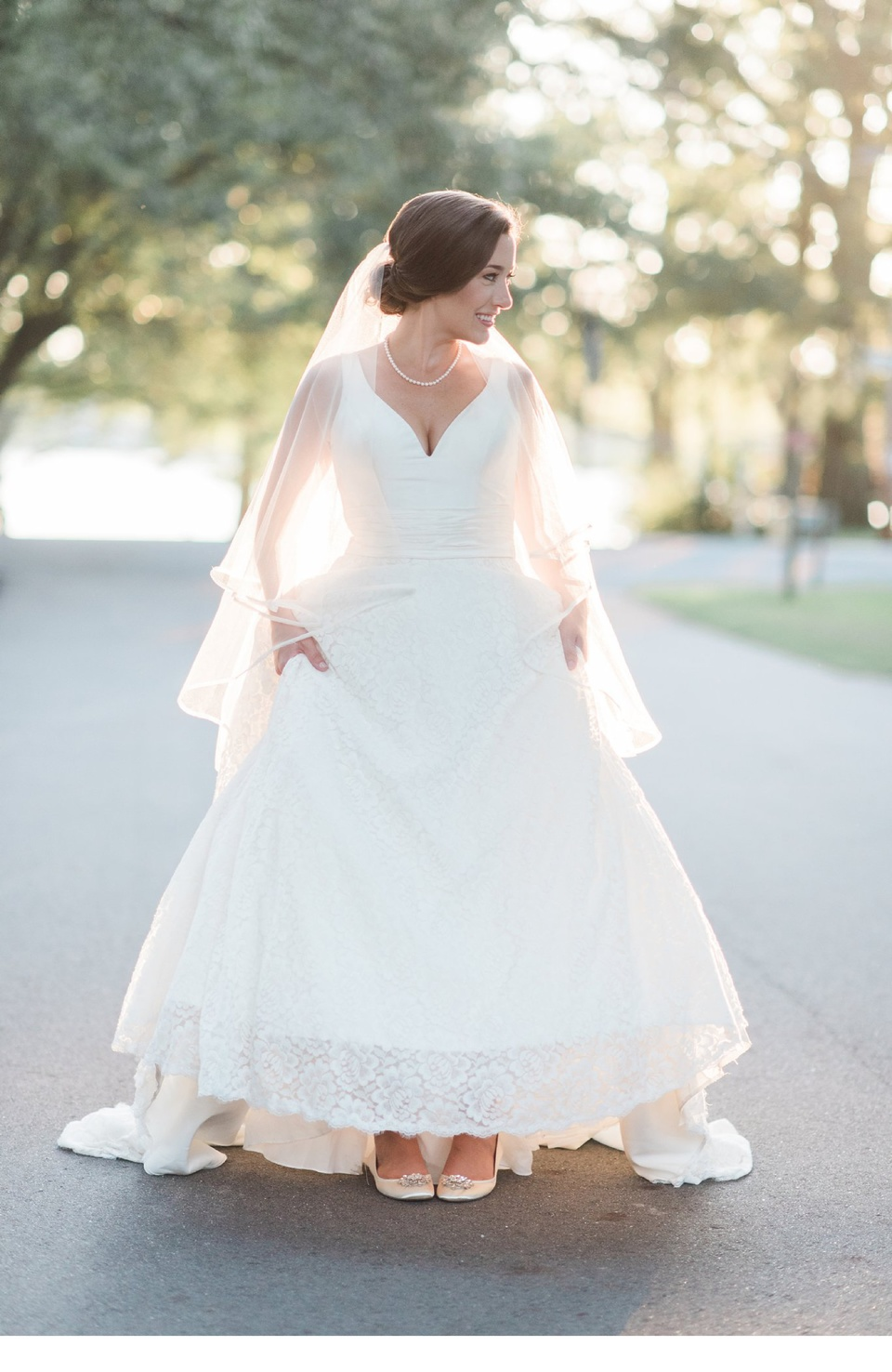 bath nc bridal portraits