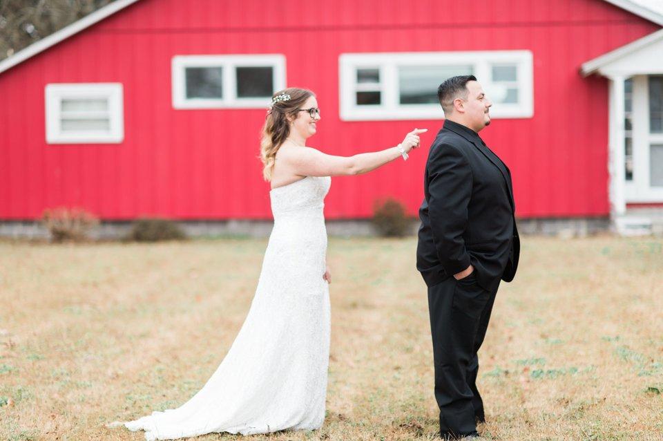 Elizabeth City NC Backyard Wedding