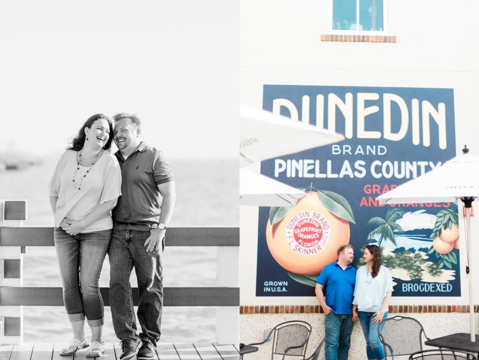 Dunedin Florida Engagement Photos