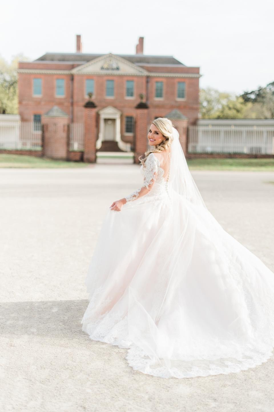 Tryon Palace Bridal Photos