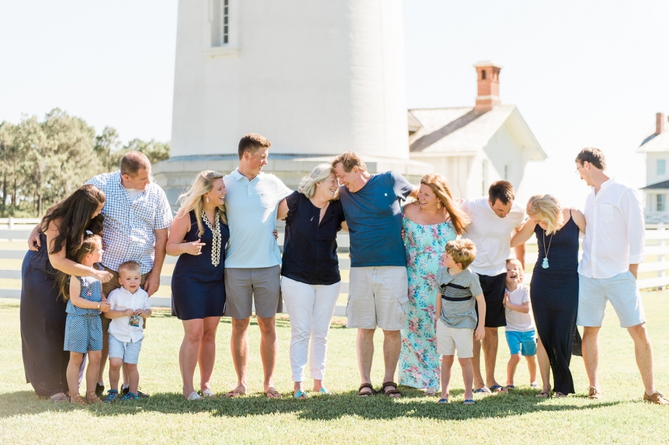 Bodie Island Lighthouse Extended Family Photos